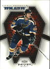 2001 02 BLUES Upper Deck MVP Talent MT13 Chris Pronger