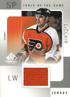 2000 01 SP Game Used Tools of the Game JL John LeClair Jersey BX 405R3
