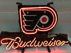 NHL Philadelphia Flyers Hockey Budweiser Beer Bar Neon Light Sign if178