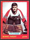 1973 74 OPC O PEE CHEE 66 BERNIE PARENT EX NM FLYERS HOCKEY CARD FREE SHIP