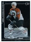 2000 01 BAP 192 Simon Gagne Signed Certified Auto Signature Series Flyers TD
