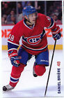 2013 14 DANIEL BRIERE MONTREAL CANADIENS TEAM ISSUE POST CARD RARE