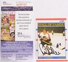 Bill Barber Autographed Signed Card JSA COA Authentic Philadelphia Flyers Hockey