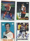 Andre Lacroix Signed Autographed Hockey Card Philadelphia Flyers 1970 OPC