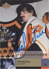 Ron Hextall Signed 2002 2003 UD Foundations Card 74 Philadelphia Flyers