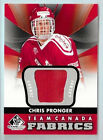 CHRIS PRONGER 2012 13 SP GAME USED EDITION GAME USED JERSEY TEAM CANADA