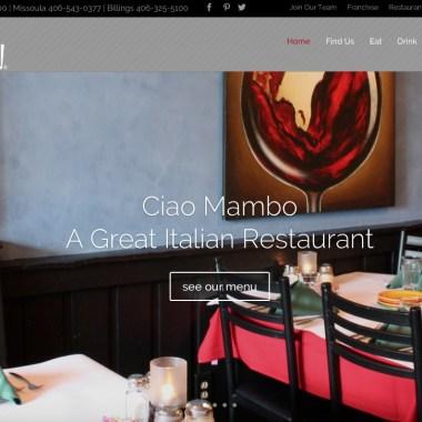 Ciao Mambo's New WordPress Website