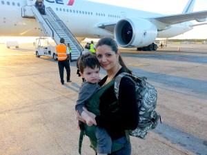 porte bébé de voyage