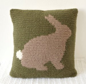 coussins lapin