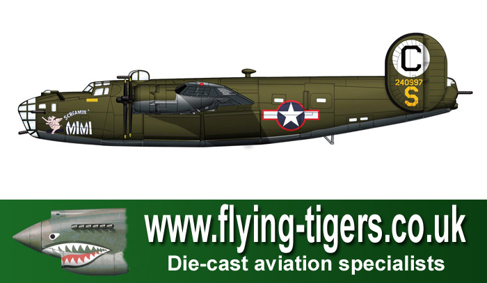 Ha9105 Consolidated B 24d Liberator 39screamin39 Mimi