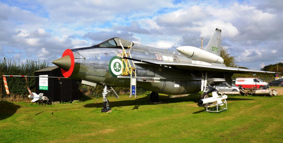 English Electric Lightning New Corgi Aviation Archive