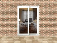 5ft uPVC Sliding Patio Doors | Flying Doors