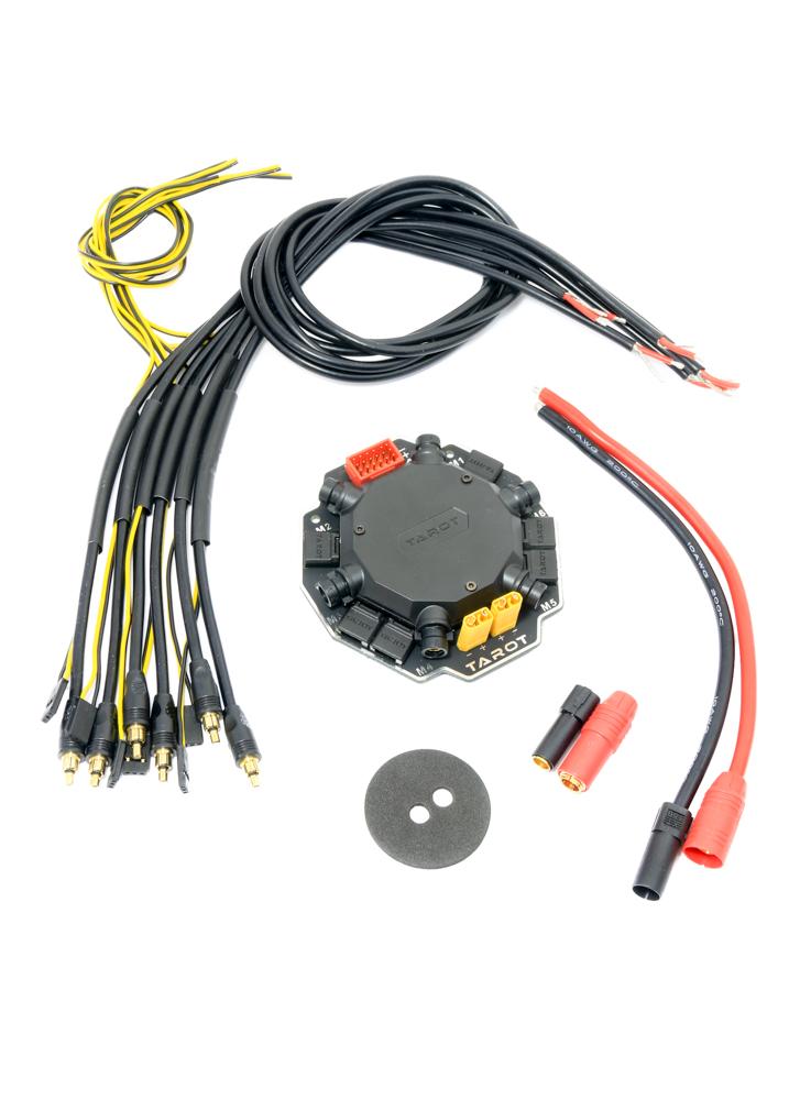 Tarot Hex Power Distribution Board Signal Hub - TL6X002 Flying Tech