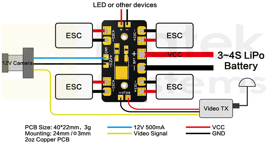 Amd Fpv Osd Wiring Diagrams Wiring Diagram