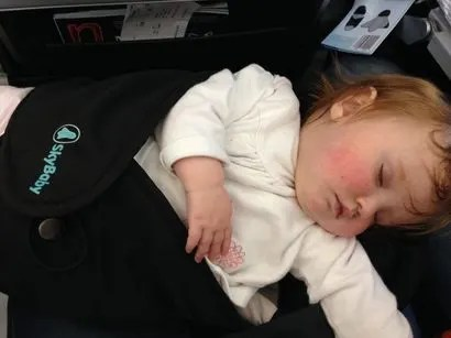 Top Tips To Help Baby Sleep On A Plane Includes tips for kids of