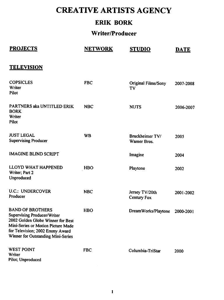 scripts video resume