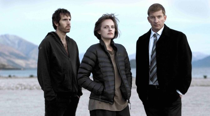 Picture shows: Johnno (THOMAS M. WRIGHT), Robin Griffin (ELISABETH MOSS) and Al (DAVID WENHAM)