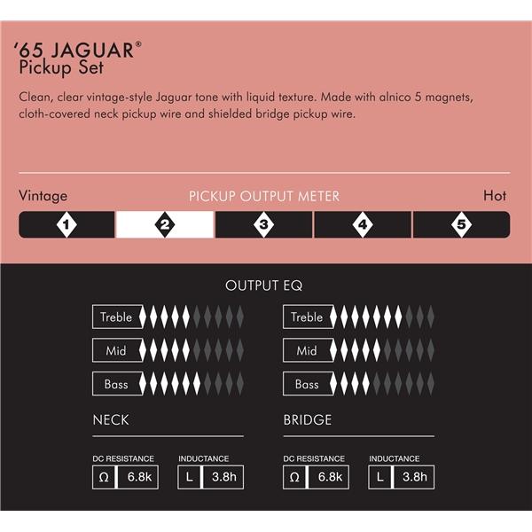 Pure Vintage \u002765 Jaguar® Pickup Set Accessories