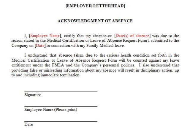 FMLA Insights Labor  Employment Lawyers Franczek Radelet PC - medical leave form
