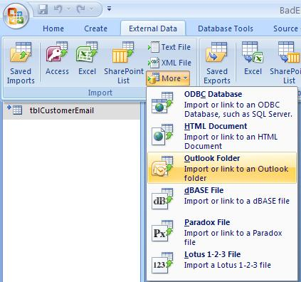Using Microsoft Access with Exchange/Outlook to Manage Email Lists