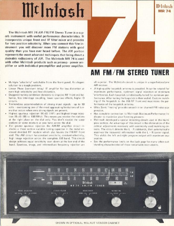 Tuner Information Center - Tuner Reviews M-N