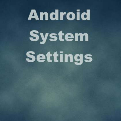 Delphi XE5 Firemonkey Android System Settings