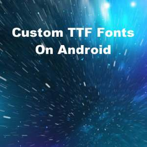Delphi XE5 Firemonkey TTF Fonts Android