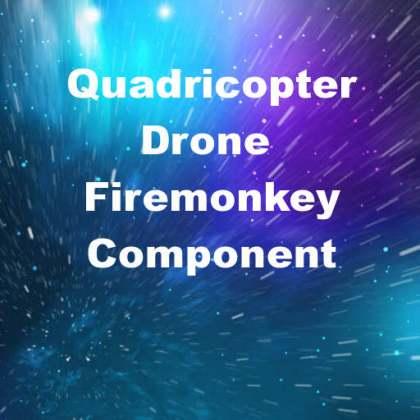 Delphi XE6 Firemonkey Quadricopter Drone Component