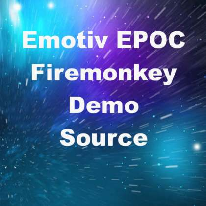 Delphi XE6 Firemonkey Emotiv EPOC Brain Interface SDK API