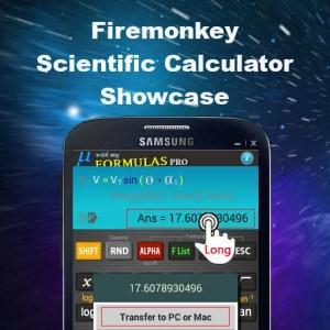 Delphi XE6 Firemonkey Based Scientific Calculator App Showcase