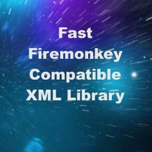 Delphi XE7 Firemonkey Free Fast XML Parsing Library
