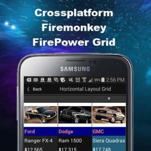 Delphi XE7 Firemonkey Fast FirePower Grid
