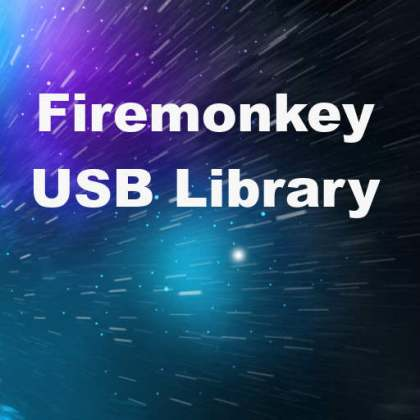 Delphi XE7 Firemonkey USB Library Windows Mac OSX