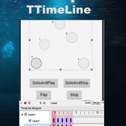 Delphi XE7 Firemonkey Timeline Component And IDE Editor