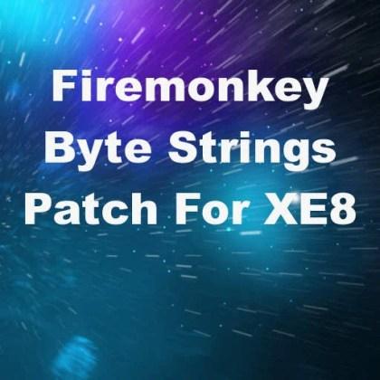 Delphi XE8 Firemonkey PAnsiChar System ByteStrings Patch IOS Android NextGen