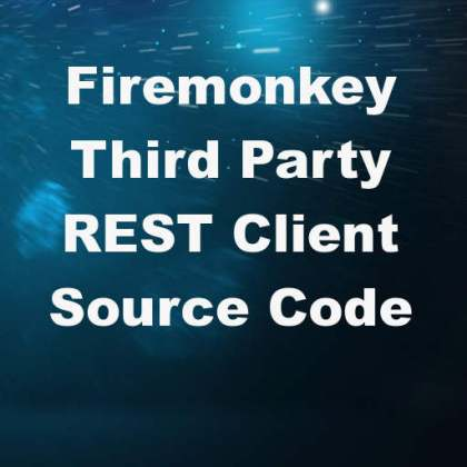 Delphi XE8 Firemonkey Third Party REST Client Android IOS