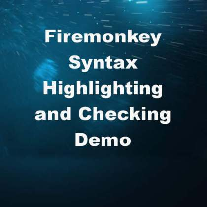 Delphi XE8 Firemonkey Syntax Checking Syntax Highlighting Android IOS
