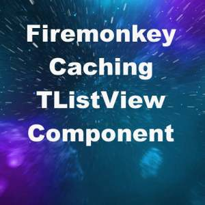 Delphi XE8 Firemonkey Custom Paging Listview Component Android IOS