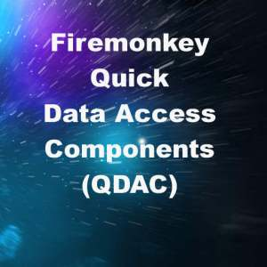 Delphi XE8 Firemonkey Quick Data Access Components