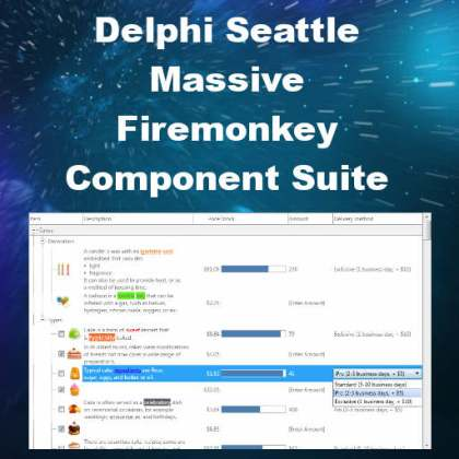 Delphi 10 Seattle Treeview Keyboard Component Pack Android IOS