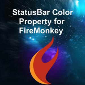Delphi 10 Berlin Status Bar Color Android JNI Java API