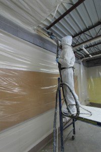 Closed Cell Spray Foam Insulation Under Metal Roof in ...