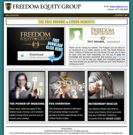 Freedom Equity Group ophion