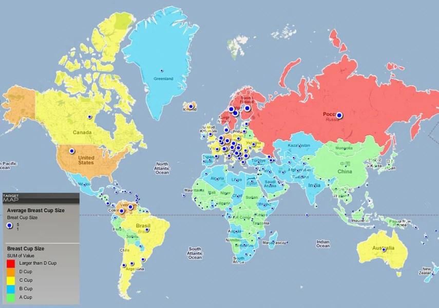40 carte geografiche che non vi hanno fatto vedere a scuola - Focusit - cartina mondo