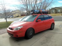 Show Me Pictures Of Your MK1 Roof Racks - Page 4 - Ford ...
