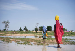 At start of World Water Week, UNICEF highlights how women and girls lose valuable time and opportunities collecting water