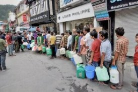 Shimla in the throes of a water crisis