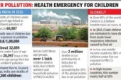 India tops in under-5 deaths due to toxic air, 60,000 killed in 2016: WHO