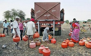 Ground reality:Between October 15 and 21, as many as 380 water tankers were used across the State.File Photo