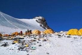 'Eco' toilet on Mount Everest
